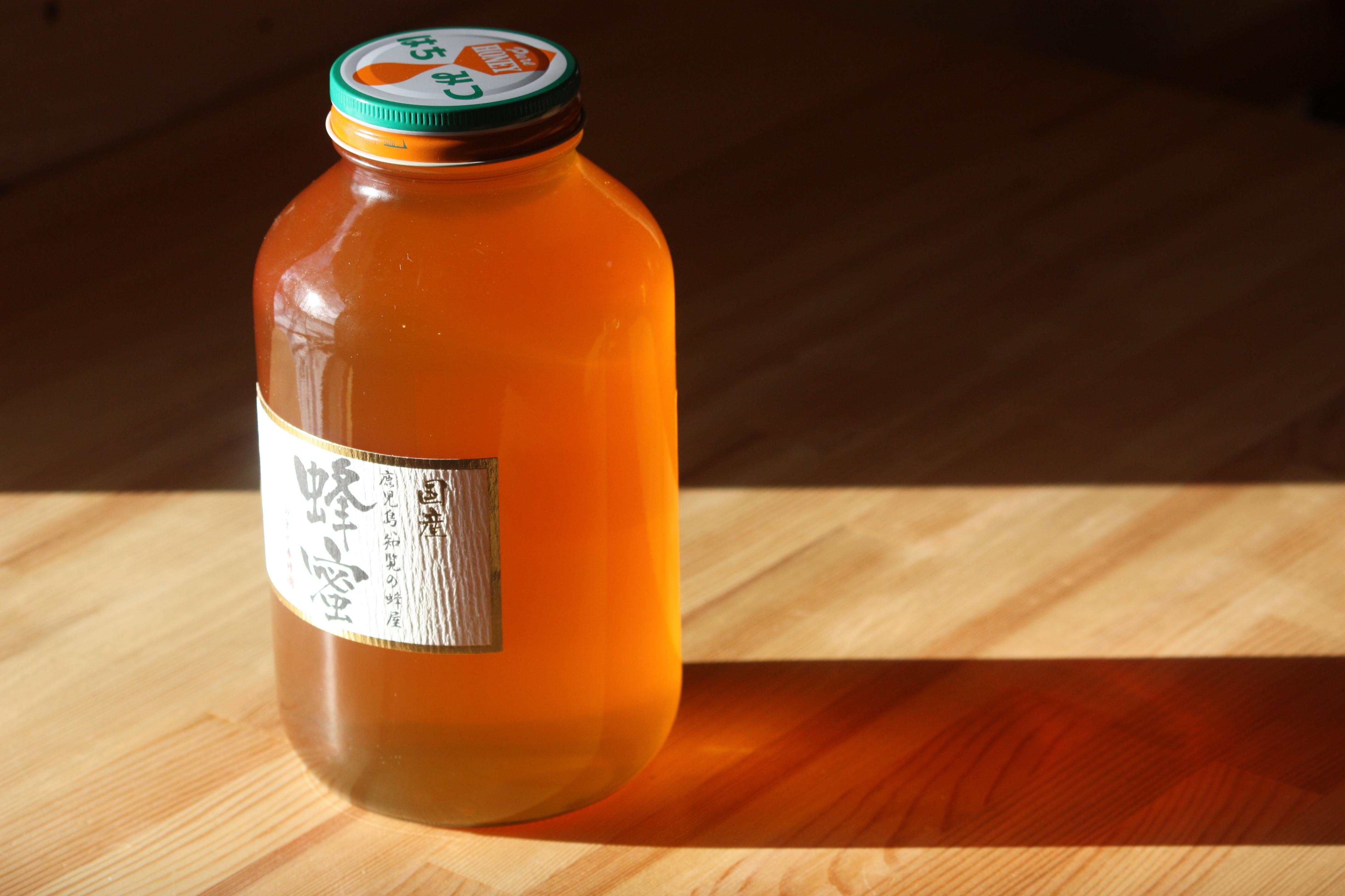 国産レンゲ蜂蜜 2400ℊ 鹿児島県産