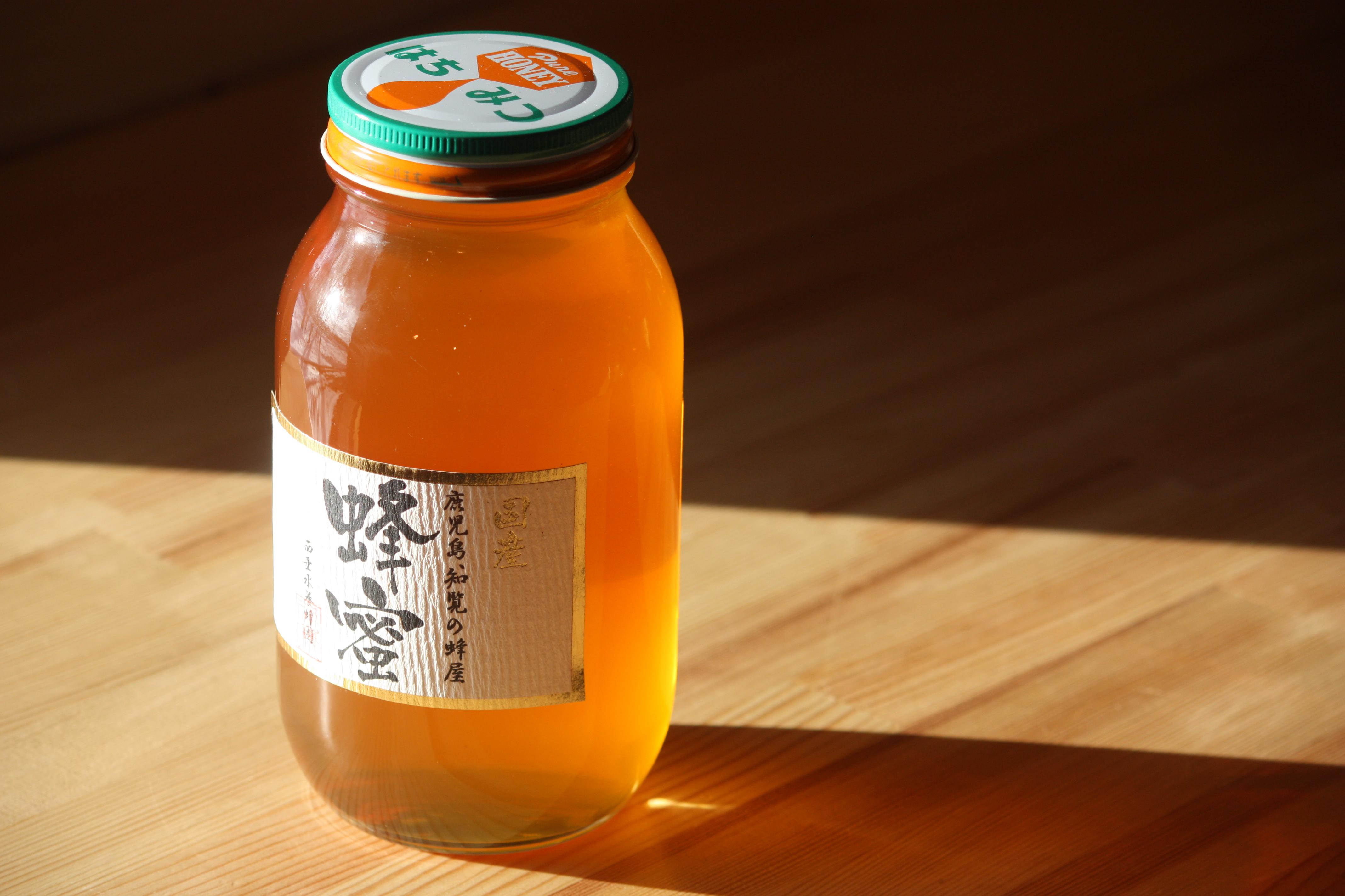 国産レンゲ蜂蜜 1200g 鹿児島県産