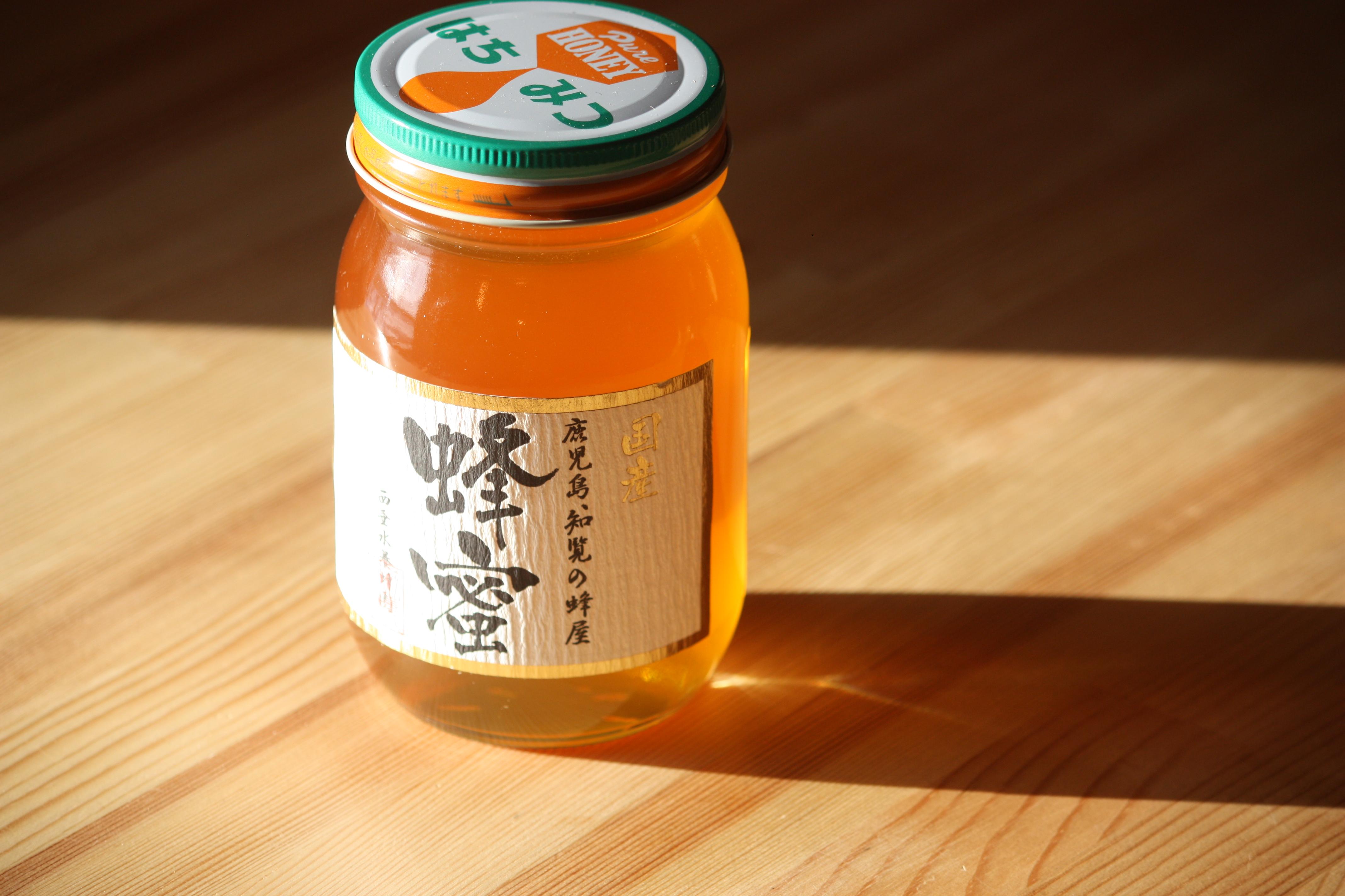 国産レンゲ蜂蜜 600g 鹿児島県産
