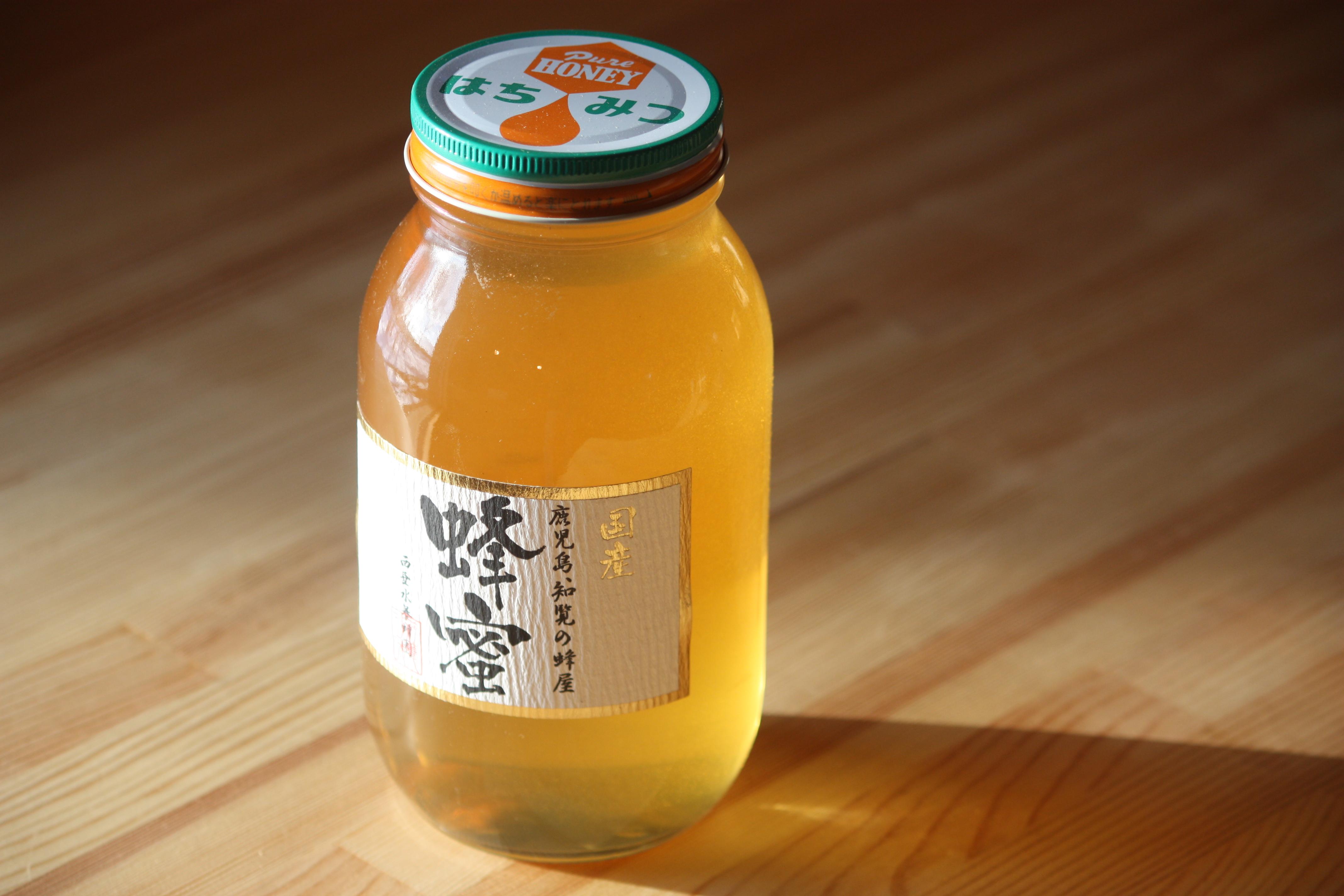 国産アカシア蜂蜜 1200ℊ 秋田県産
