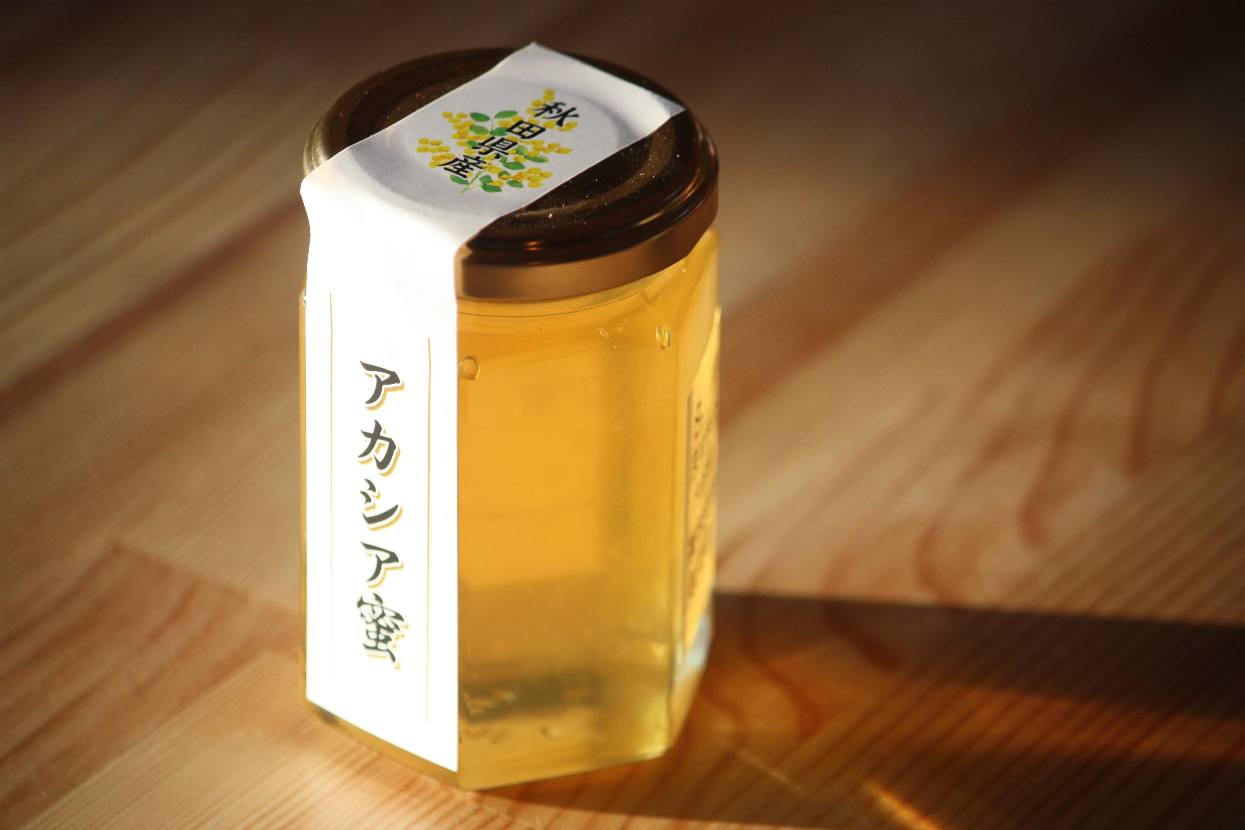 国産アカシア蜂蜜 秋田県産