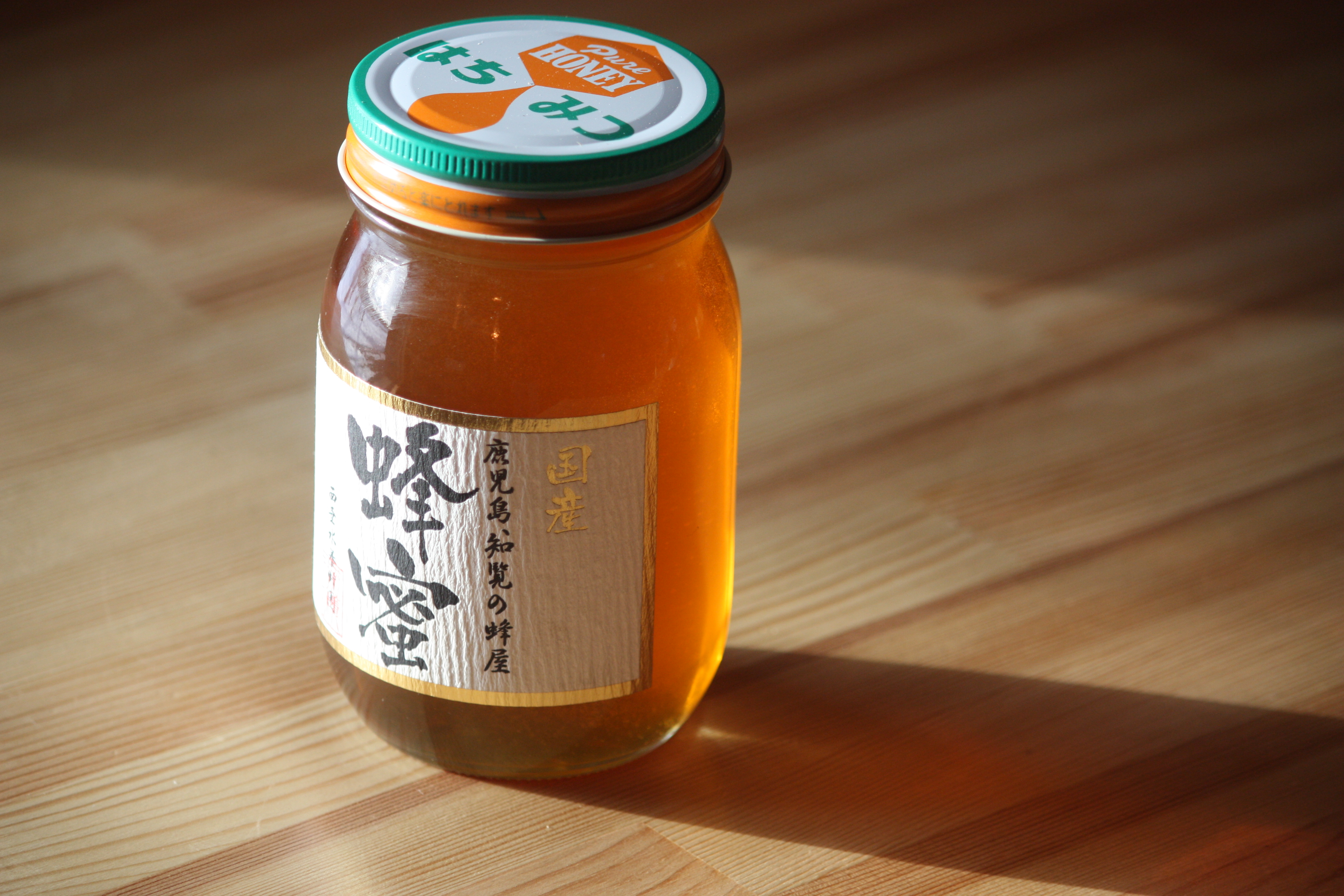 国産 菩提樹蜜(ぼだいじゅ 別名 シナ蜜) 600g 日本産
