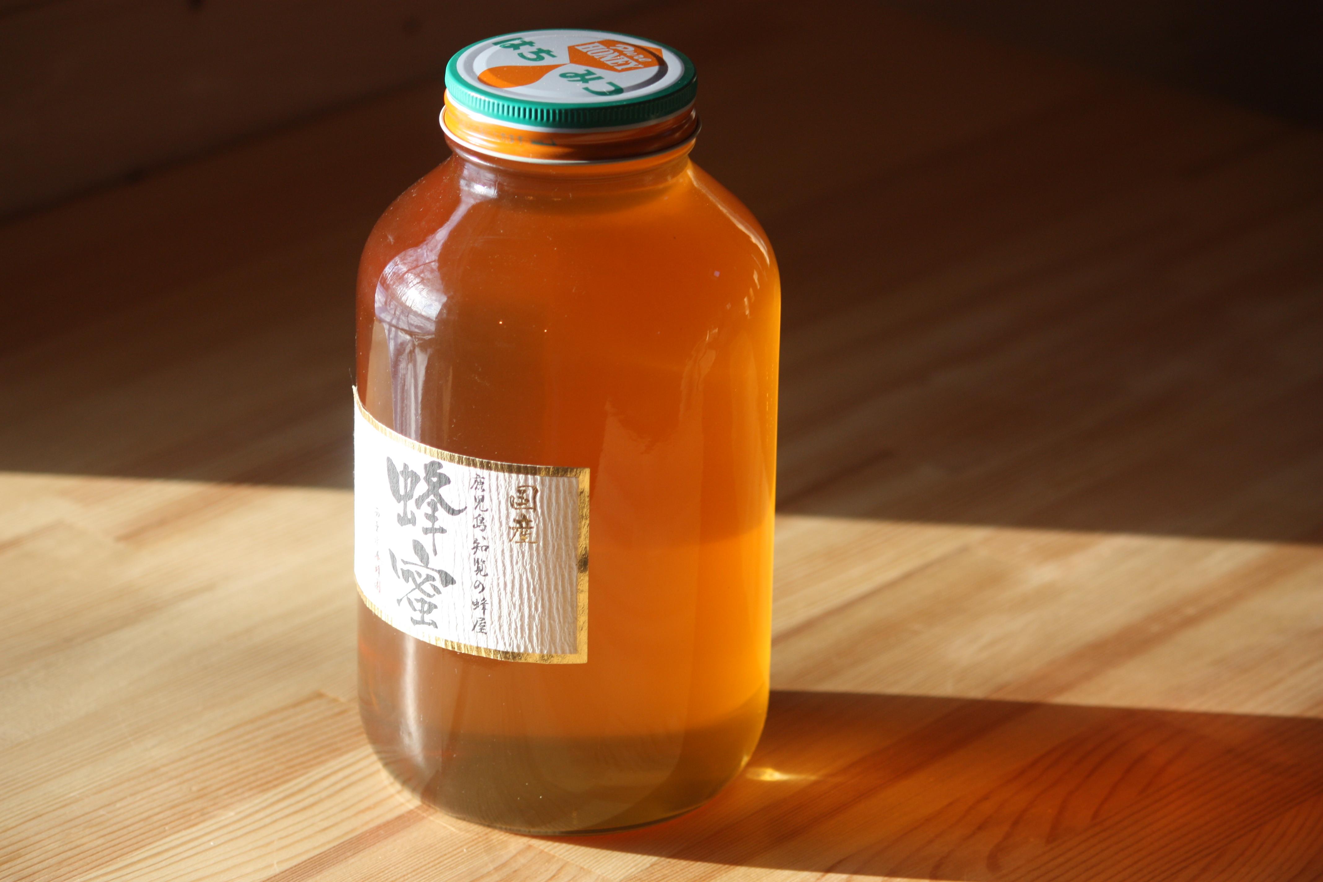 国産ミカン蜂蜜 2400ℊ 長崎県