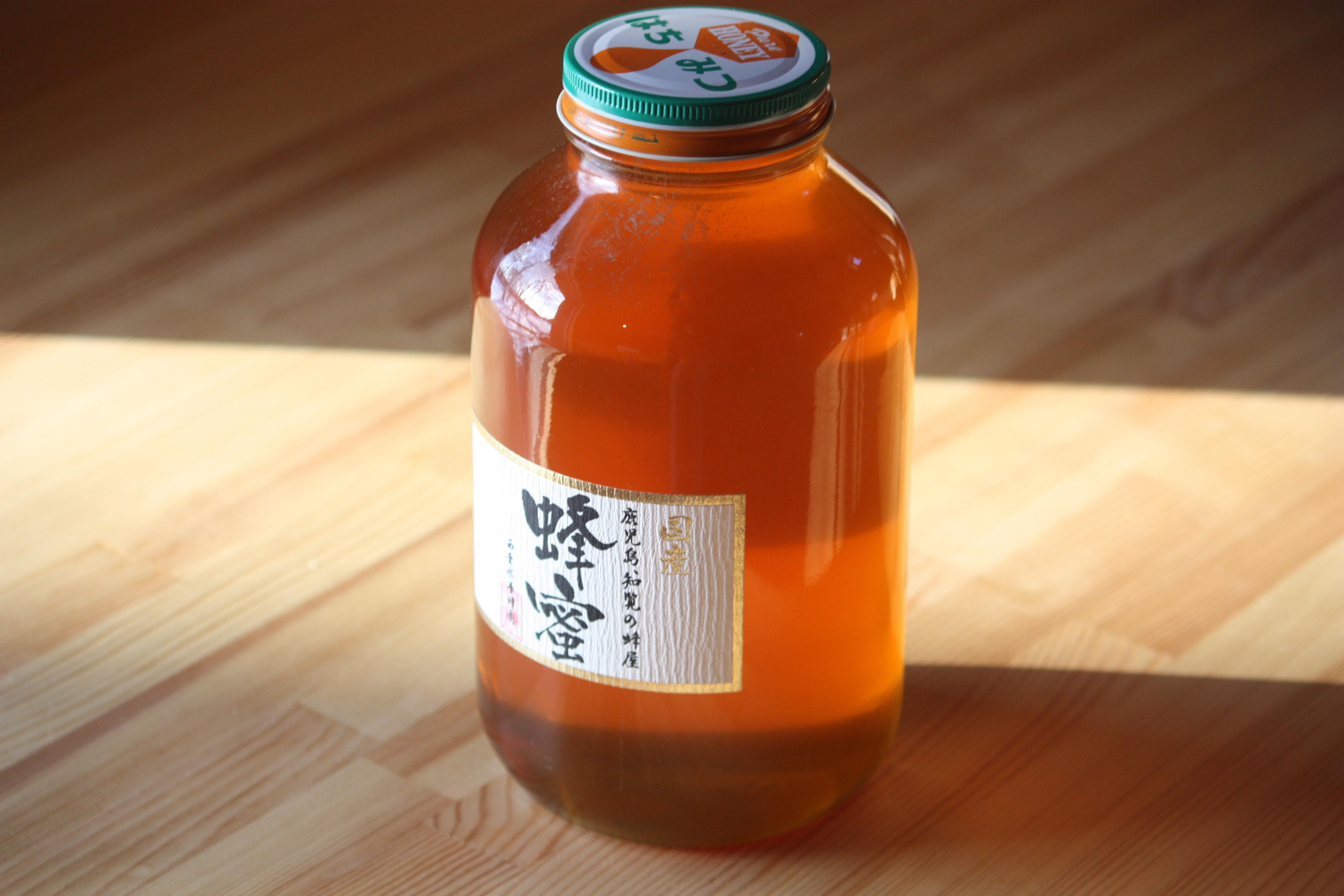 国産リンゴ蜂蜜 2400ℊ 青森県産