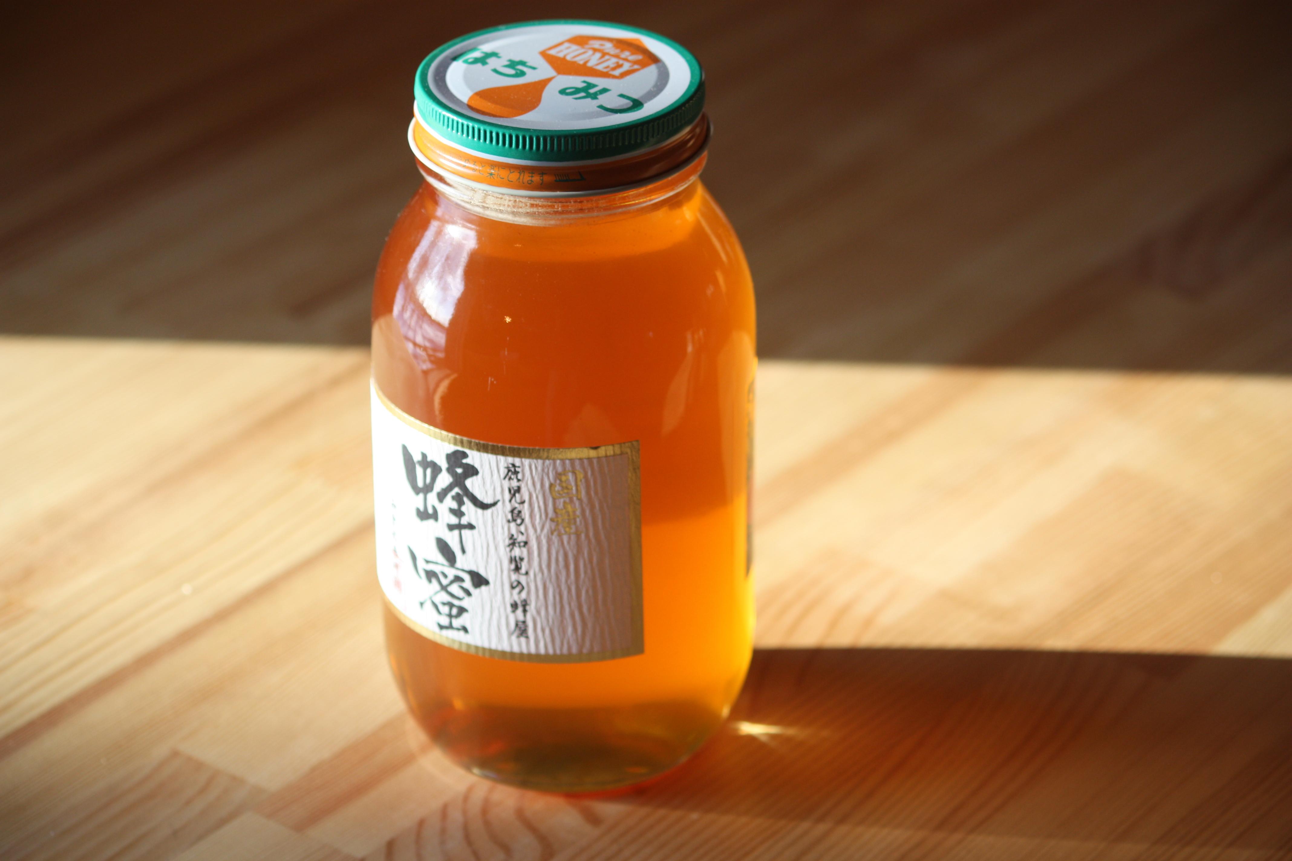 国産リンゴ蜂蜜 1200ℊ 青森県産